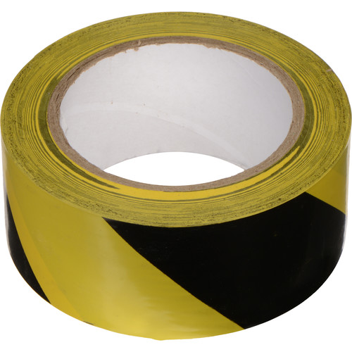 Rosco Caution Tape, Black/Yellow