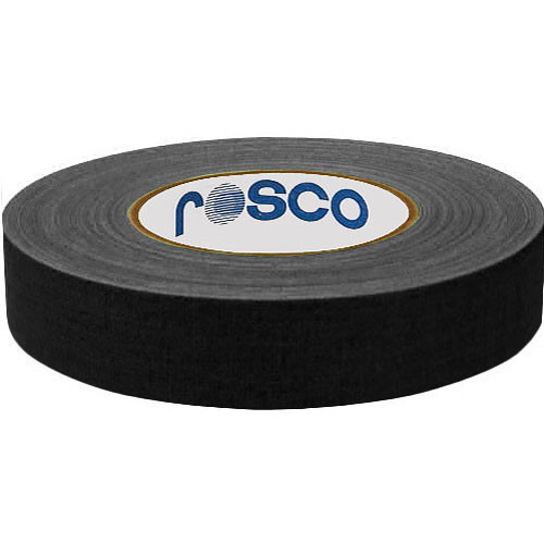 "Rosco Gaffer Tape (1"" x 164', Black )"