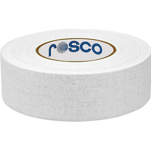 "Rosco Gaffer Tape (2"" x 164', White Box of 24 Rolls)"