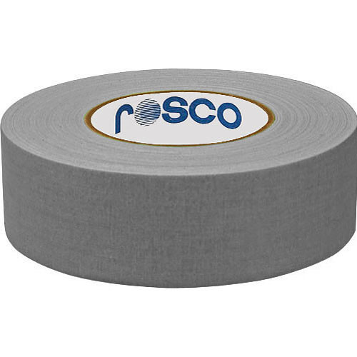 "Rosco Gaffer Tape (2"" x 164', Gray Box of 24 Rolls)"