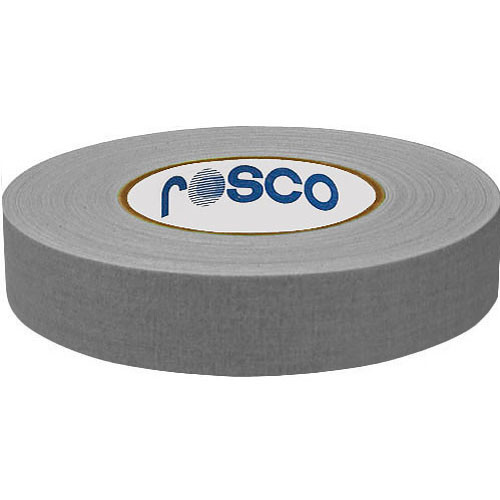 "Rosco Gaffer Tape (1"" x 82', Gray )"