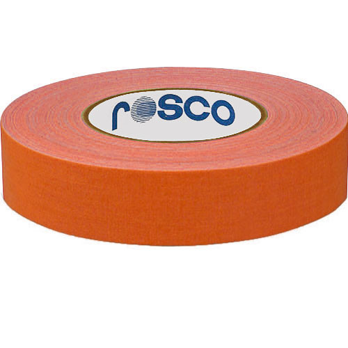 Rosco 48mm x 25 m Gaffer Tape (Fluorescent Orange)