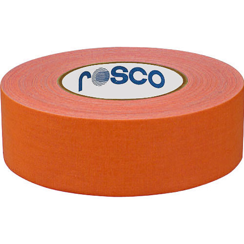 "Rosco Gaffer Tape 2"" x 55 yd (Fluorescent Orange)"
