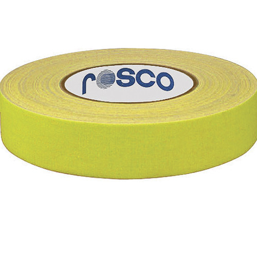 Rosco 48mm x 25 m Gaffer Tape (Yellow)