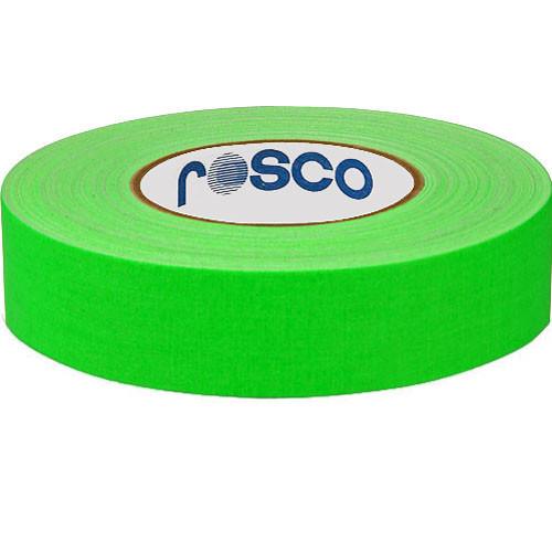 Rosco 48mm x 25 m Gaffer Tape (Fluorescent Green)