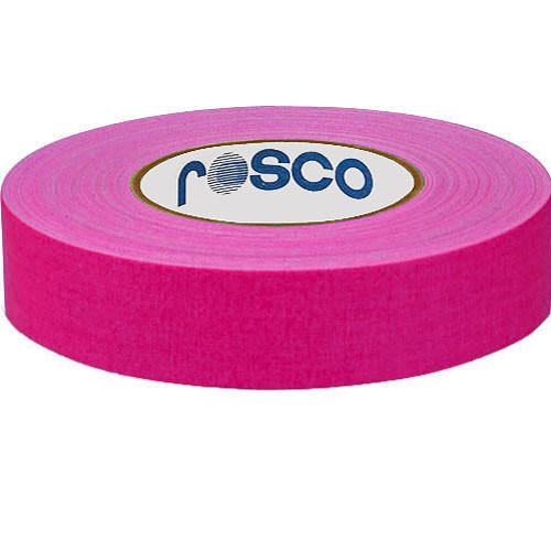 "Rosco Gaffers Tape (0.9"" x 82', Fluorescent Pink)"