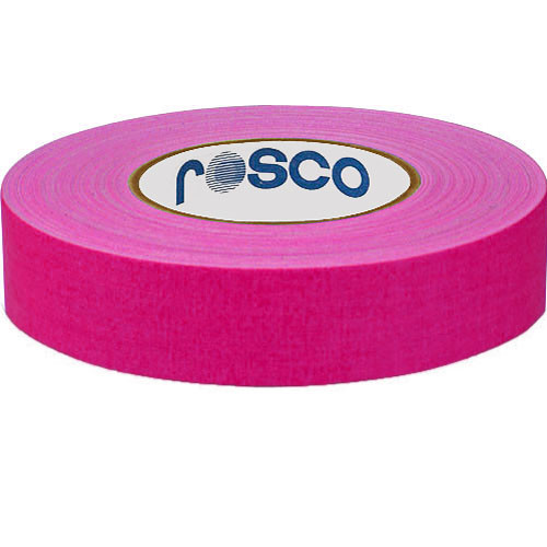 Rosco 48mm x 25 m Gaffer Tape (Fluorescent Pink)