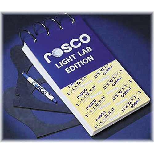 Rosco E-Colour Light Lab Edition - 6.5x12""