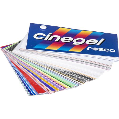 """Rosco Large 3 x 6"""" Cinegel Swatchbook"""