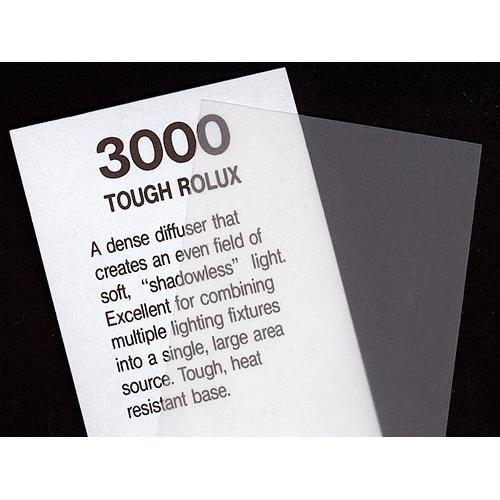 """Rosco Cinegel #3000 Filter - Tough Rolux - 20x24"""" Sheet"""