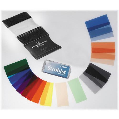 Rosco Strobist 55-Piece Filter Kit With Gel Holder