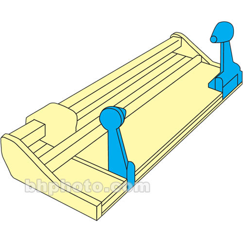 "Rotatrim Roll Dispenser - 14"" Diameter Rolls"
