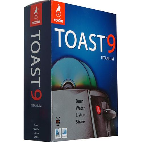 Roxio Toast 9 Titanium - Disc Burning Software