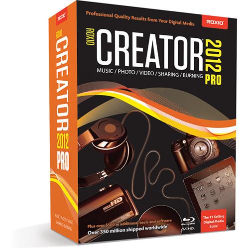 Roxio Creator 2012 Pro (Windows)