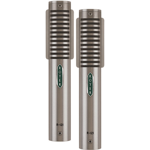 Royer Labs R-121-MP Studio Ribbon Microphones (Nickel, Matched Pair)