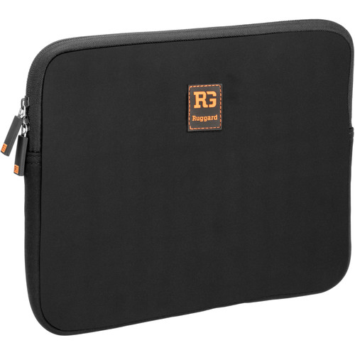 "Ruggard Ultra-Thin Sleeve for 10"" Laptop/Tablet (Black)"