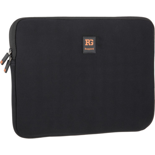 """Ruggard Ultra-Thin Sleeve for 13.3"""" Laptop/Tablet (Black)"""