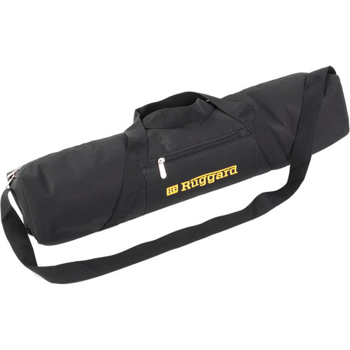 "Ruggard Padded Tripod Case (27"", Black with Yellow Embroidery)"
