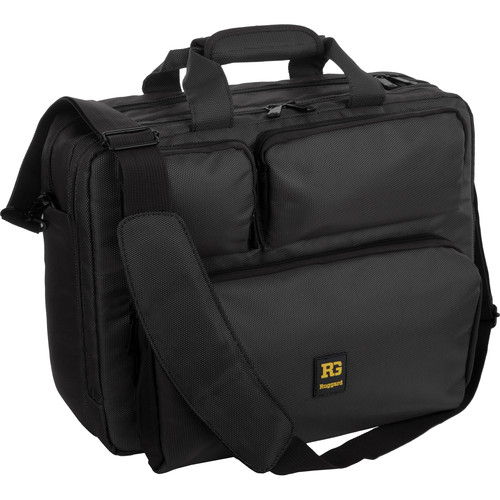 """Ruggard Convertible Case with 16.4"""" Laptop Pocket (Charcoal Gray/Black)"""