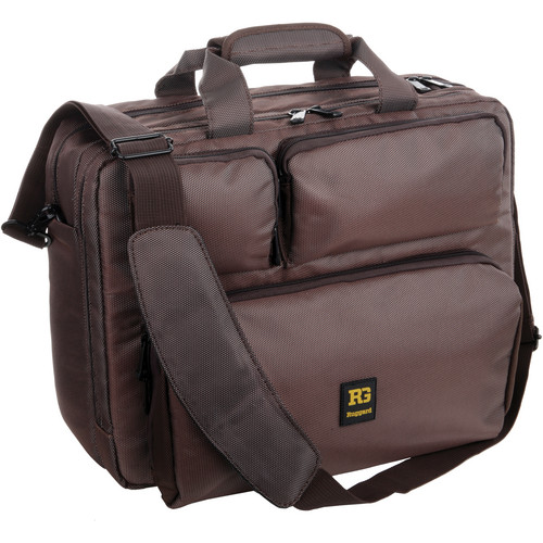 "Ruggard Convertible Case with 16.4"" Laptop Pocket (Brown)"