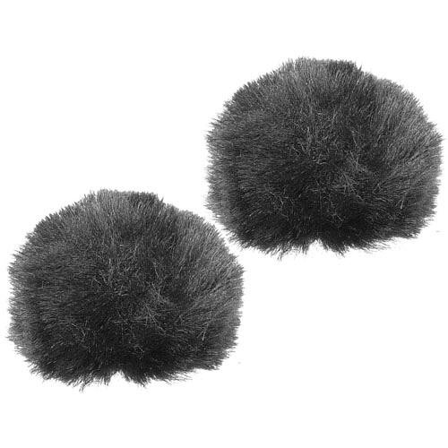 Rycote Furry Windjammer for Lavalier Mics (Pair)