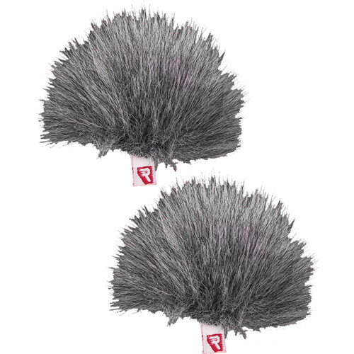 Rycote Pair Gray Ristretto Lavalier Windjammer