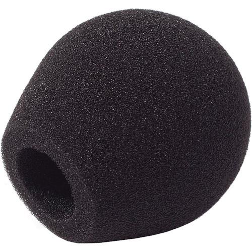 Rycote 18/32 Small Diaphragm Mic Foam [Black] (10-Pack)