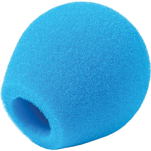 Rycote 18/32 Small Diaphragm Mic Foam [Blue] (10-Pack)