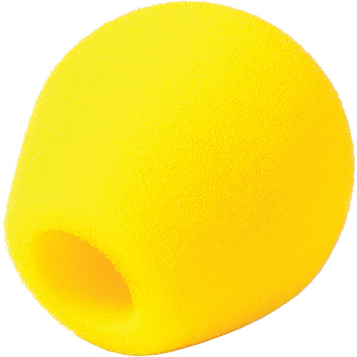 Rycote 18/32 Small Diaphragm Mic Foam [Yellow] (10-Pack)