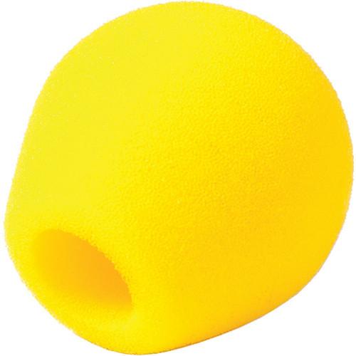 Rycote 18/32 Small Diaphragm Mic Foam [Yellow] (10-Pack)