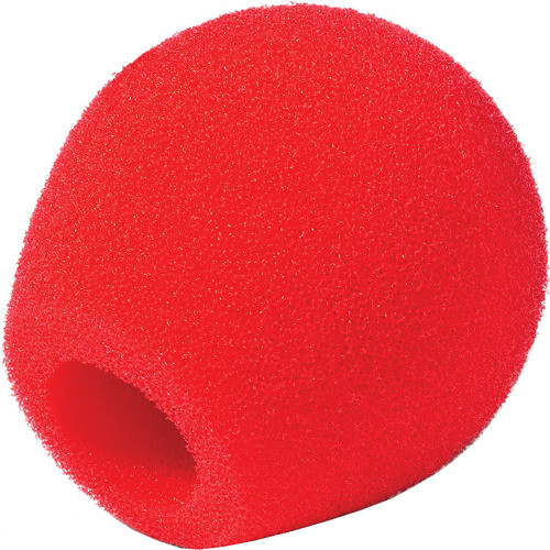 Rycote 18/32 Small Diaphragm Mic Foam [Red] (10-Pack)