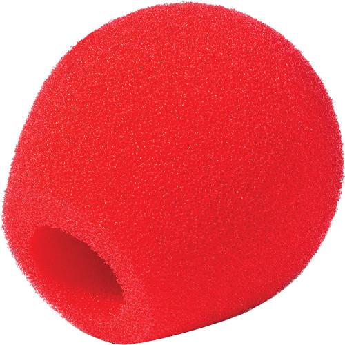 Rycote 18/32 Small Diaphragm Mic Foam [Red]