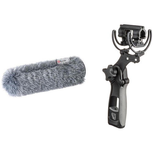 """Rycote Standard Hole Softie with Lyre Mount and Pistol Grip (11.41"""")"""