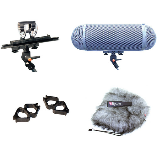 Rycote Stereo Windshield Kit AG Kit for 19 to 25mm Microphones - 080201