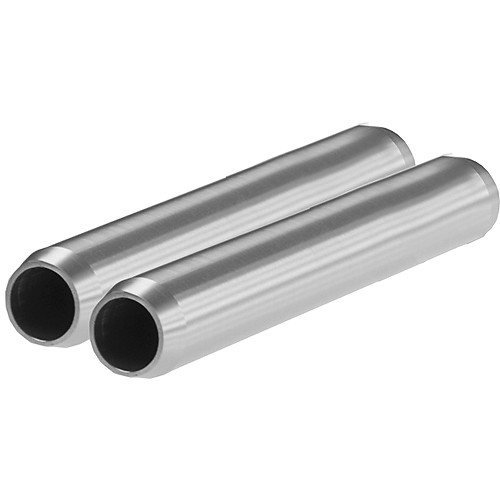 "SHAPE 15mm Aluminum Rods (Pair, 6"")"