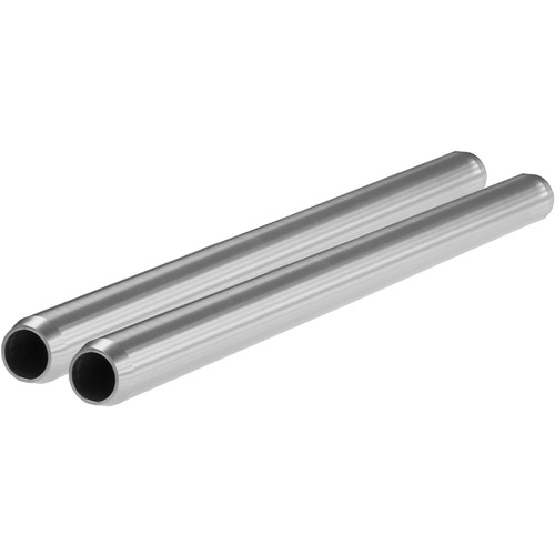 "SHAPE 15mm Aluminum Rods (Pair, 8"")"