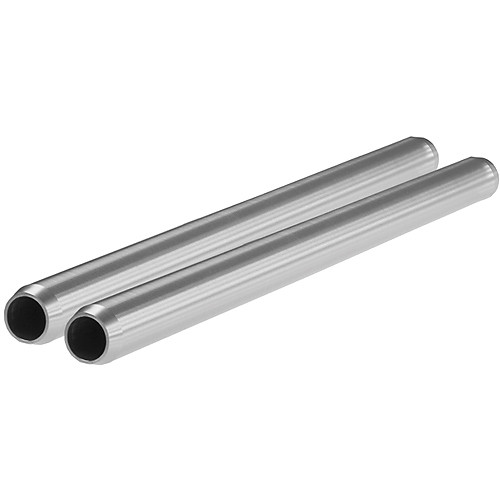 "SHAPE 19mm Aluminum Rods (Pair, 8"")"