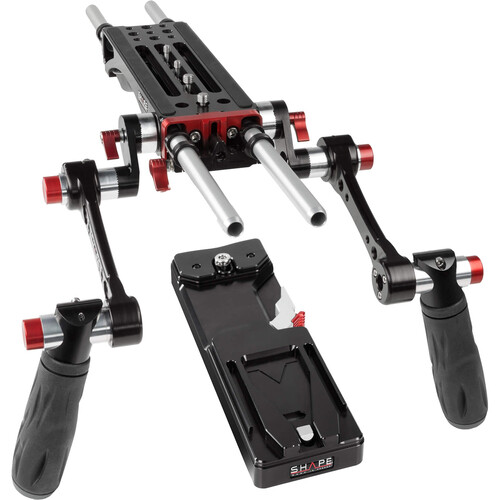 SHAPE BP7000 V-Lock Quick Release Baseplate Kit
