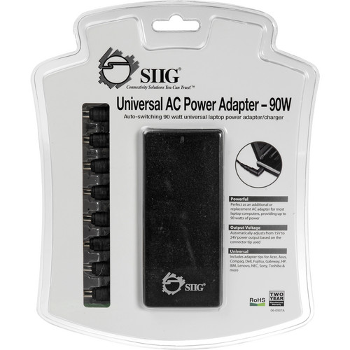 SIIG Universal AC Power Adapter 90W