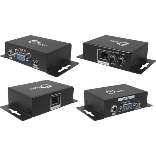 SIIG VGA & Audio 1000 ft Extender Set