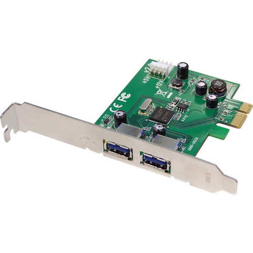 SIIG 2-Port USB 3.0 SuperSpeed PCIe Card
