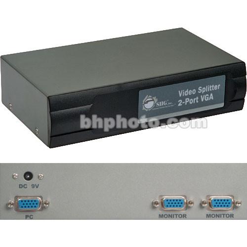 SIIG VGA 2-Port Video Splitter