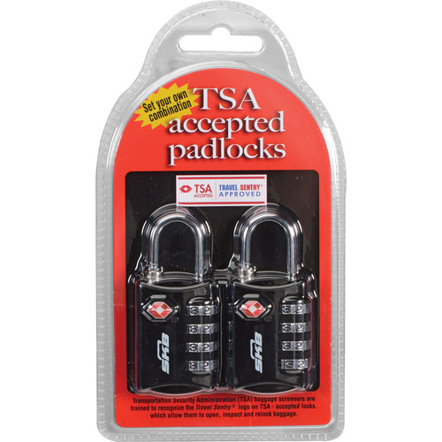 SKB TSA Combination Padlock (2-Pack)