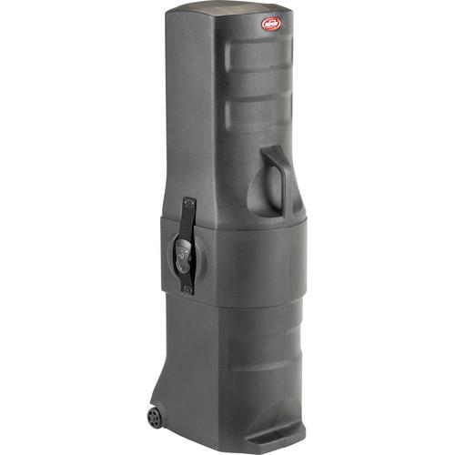 SKB Roto-Molded Medium-Sized Stand Case with Wheels (Black)