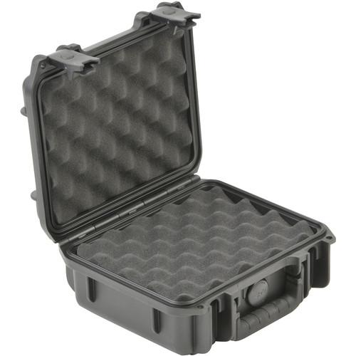 """SKB 3I-0907-4-L Small Mil-Std Waterproof Case 4"""" Deep (Black)"""
