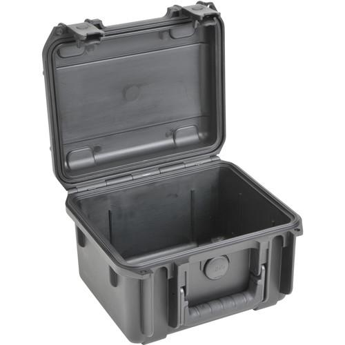 """SKB 3I-0907-6-E Small Mil-Std Waterproof Case 6"""" Deep (Black)"""