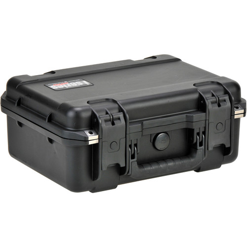 SKB iSeries 1510-6 Waterproof Utility Case with Cubed Foam (Black)