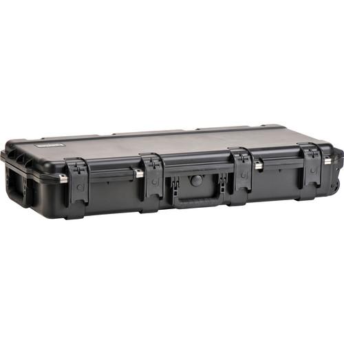 SKB iSeries 3614-6 Waterproof Utility Case with Wheels (Black, Empty)