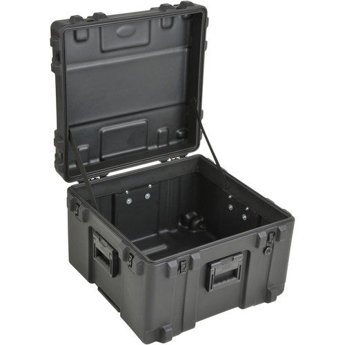 SKB 3R2423-17B-EW Roto-Molded Mil-Standard Utility Case with Empty Interior and wheels