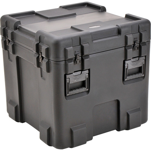 SKB 3R2424-24B-L Roto-Molded Mil-Standard Utility Case with Layered Foam Interior